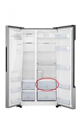 Obrázek Originální 1. šuplík z vrchu v chladničce Hisense H1645656